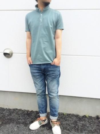 ポロシャツの意外な色imege