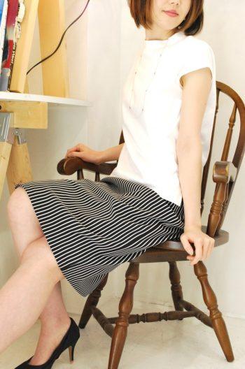 実は使えるタイトスカート。imege