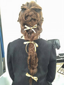 お洋服とヘアメイクの意外な関係性。imege