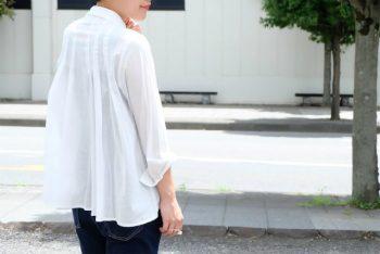 本気の白シャツ。imege