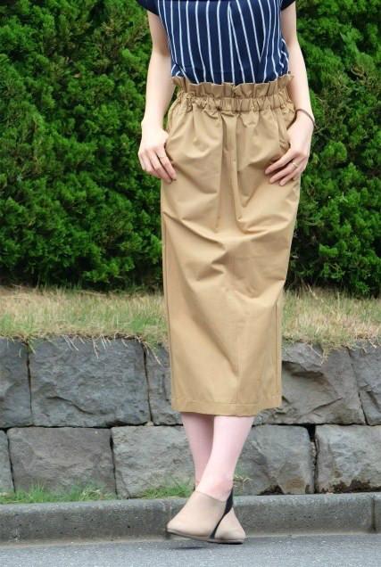 渾身のタイトスカート。imege