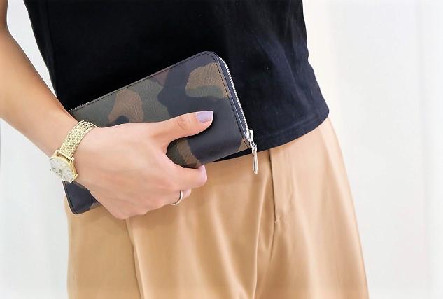 カモフラ長財布|つくばセレクトショップ