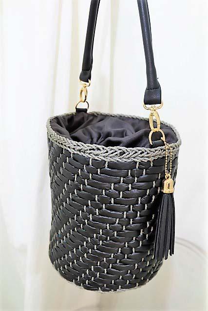 レディースバケツ型かごバッグ|つくばセレクトショップ