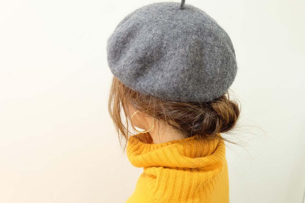 どう被ればいい?ベレー帽事情。