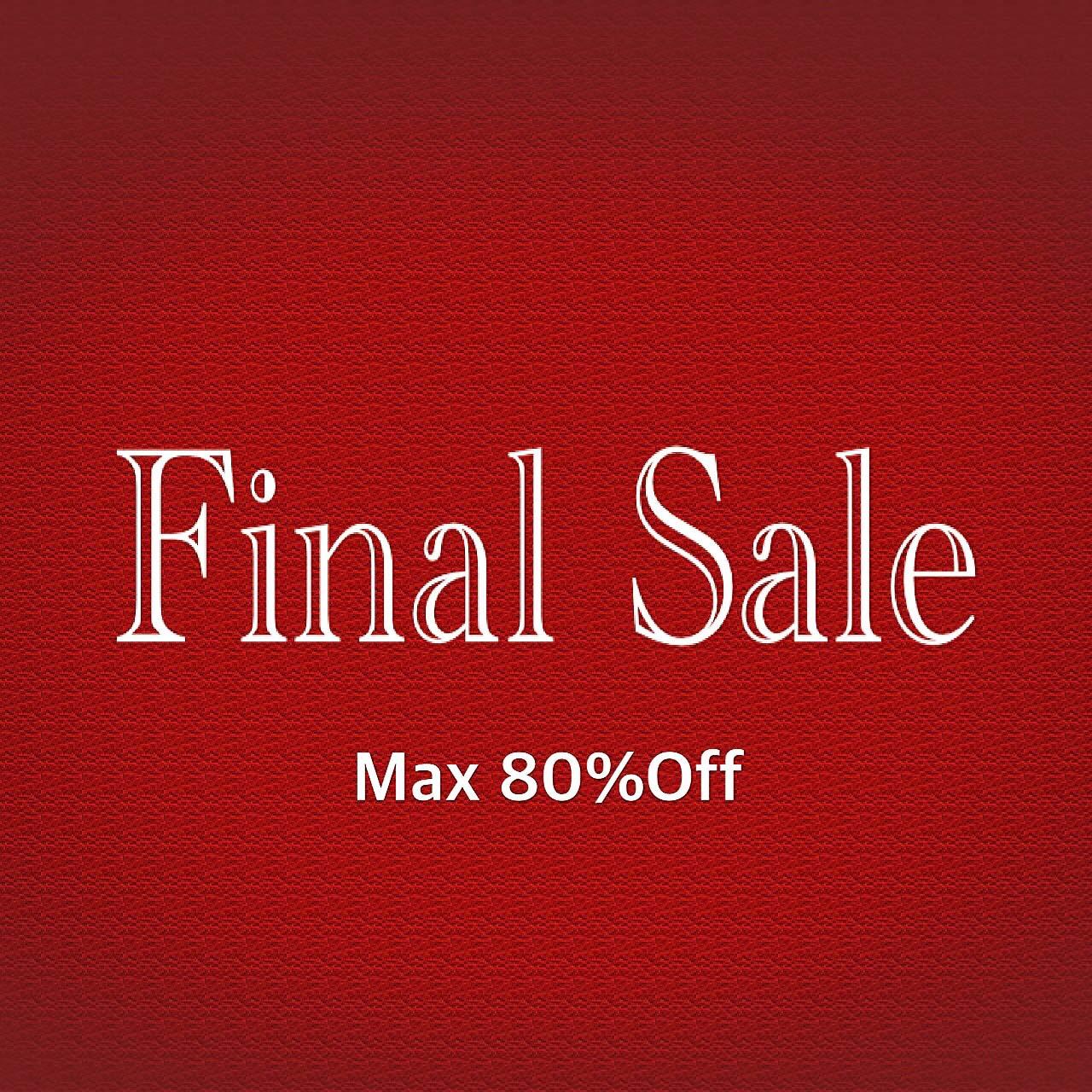 Final Sale★スタート!
